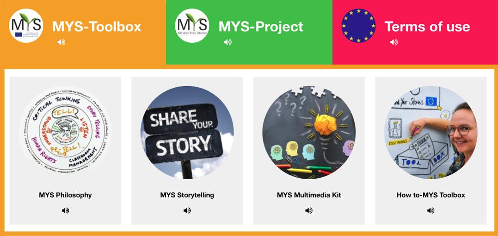 screenshot of MYS toolbox