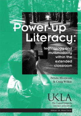 Power Up Literacy book bover
