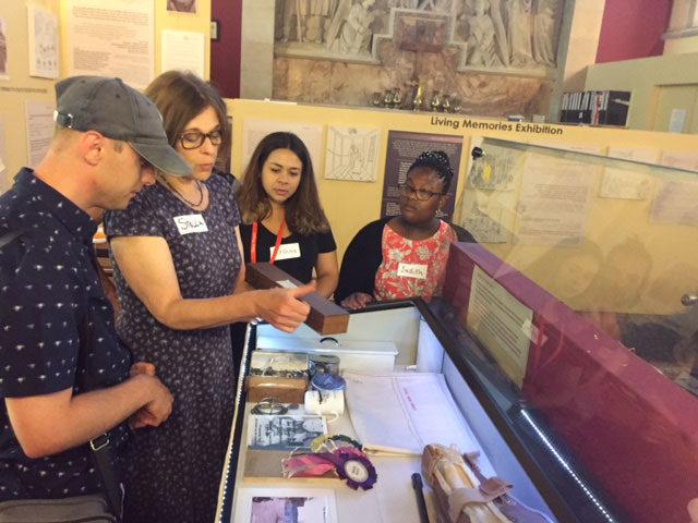 Working with Glenside volunteers