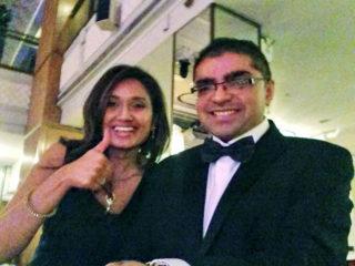 Kanchan and Ajay
