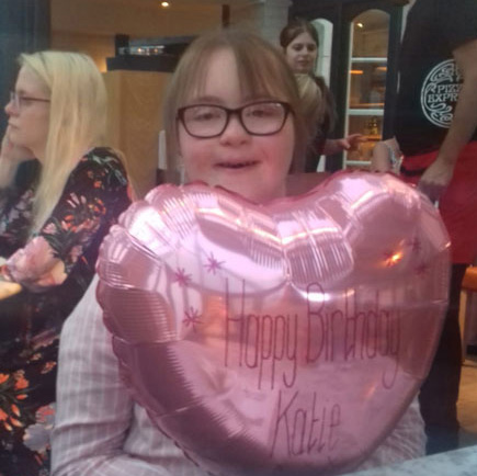 Katie's birthday